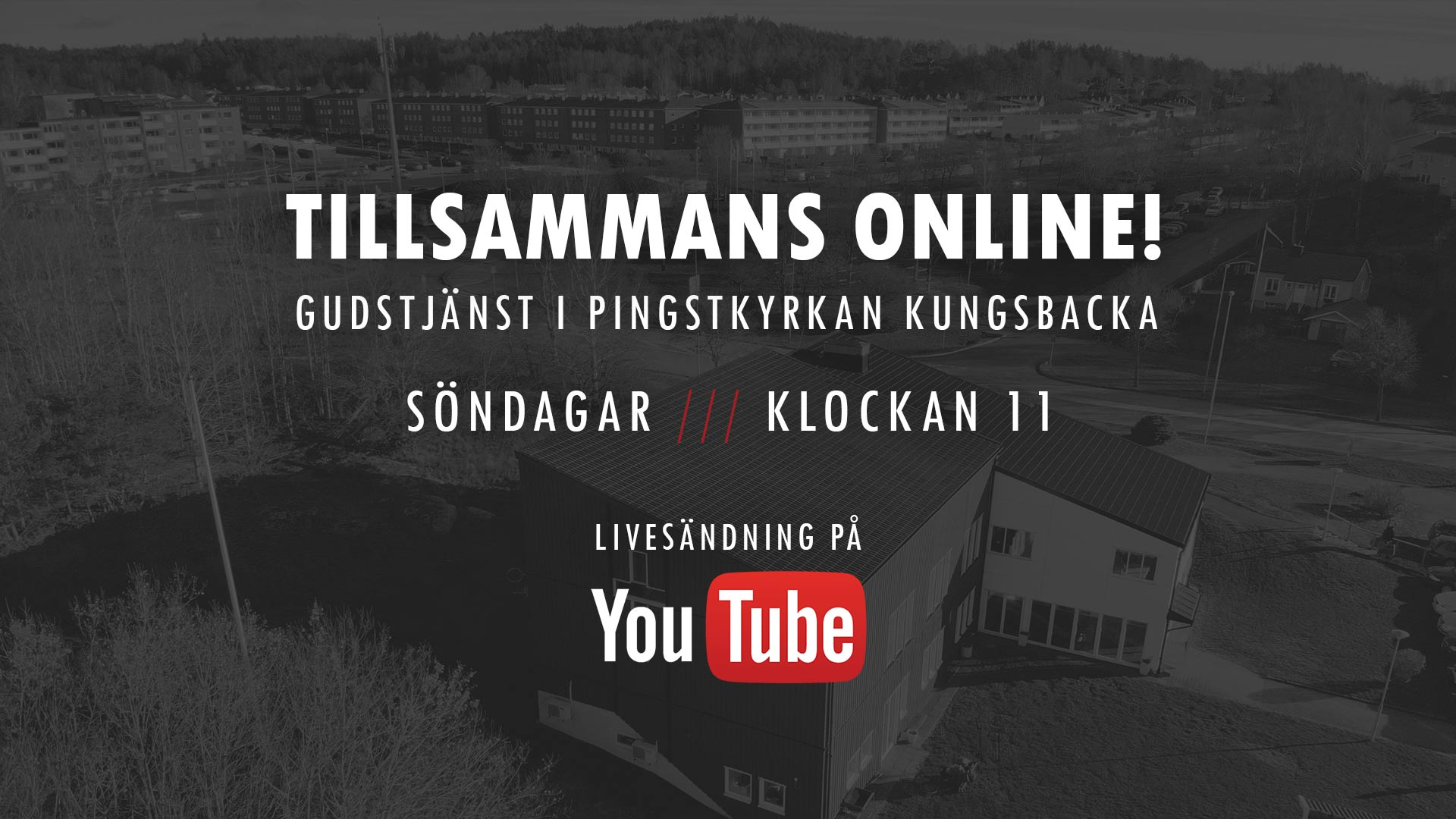 Livesändning på YouTube